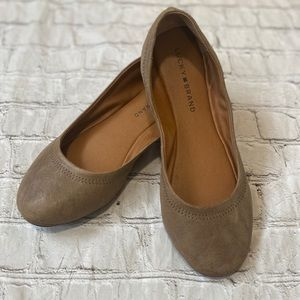 Lucky Brand Size 9 leather Emmie Flats